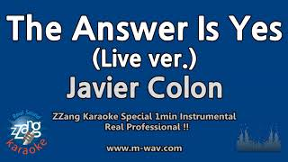 Watch Javier Colon The Answer Is Yes video