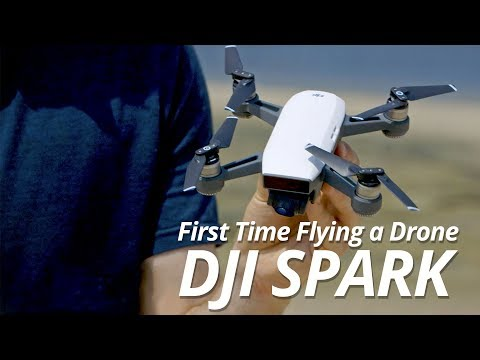 First Time Flying a Drone | DJI Spark