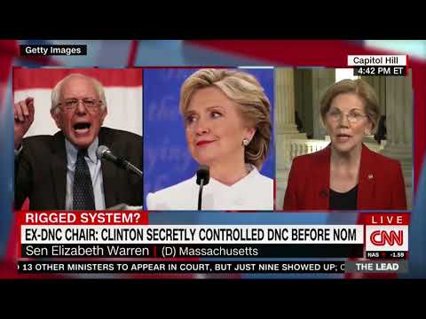 Warren Agrees Primary 'Rigged' but as with all good Hyocrite Democrats she does a 180
