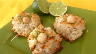 How To Make Coconut Macaroons With Macadamia Nuts-gluten Free