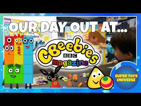 Our Day Out at CBeebies Magazine! Immediate Media in London