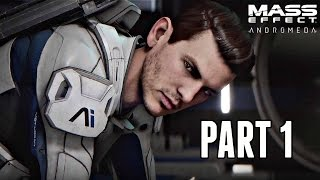 Mass Effect Andromeda Walkthrough Part 1 - FULL GAME INTRO! (Xbox One S Gameplay)
