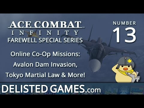 DELISTED Special: Ace Combat Infinity #13 - Online Co-Op (Adriatic, Tokyo, More)