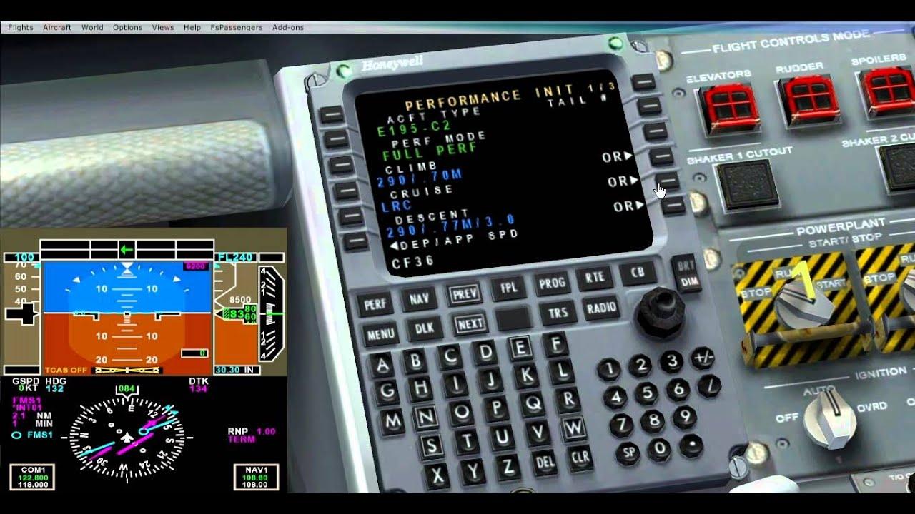 fsx wilco embraer e jet 190 195 tutorial espa ol full procedimientos rh youtube com