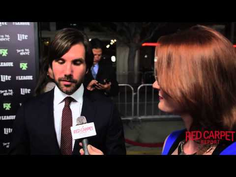 Jon LaJoie at the Season 7 Premiere for FXX's The League @TheLeagueFXX