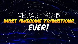 Vegas Pro 15: The Most Awesome Transitions EVER! - Tutorial #291 Video