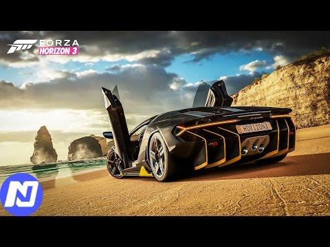 Forza Horizon 3  Ngày đầu bước vào nước ÚC cùng siêu xe Lamborghini Centenario | ND Gaming