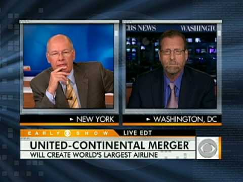 United and Continental Airlines Announce Merger