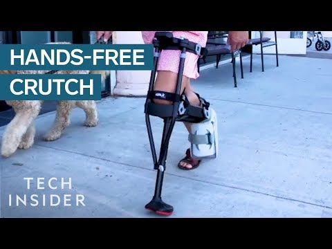 Crutch Doesn't Require Any Hands To Use