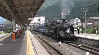 東武鉄道SL大樹鬼怒川温泉駅転車台 方向転換 4K30P