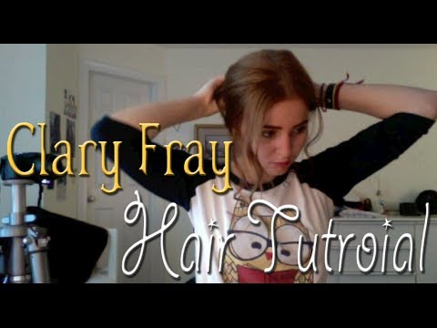 Clary Fray Messy Bun Tutorial Youtube