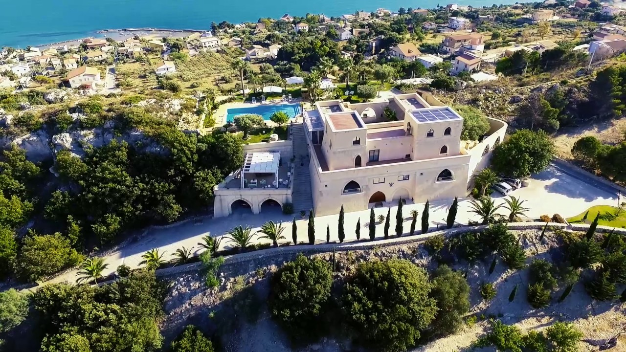 villa kete - luxury villa in sicily - youtube