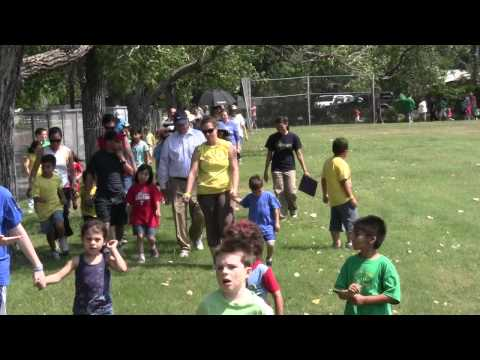 "Grand Prairie Reporter: Immaculate Conception School Holds ""Walk for Diego"""