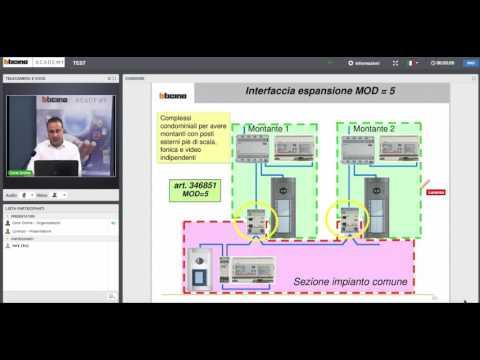Sistema 2 Fili Bticino.Videocitofonia 2 Fili Bticino Componenti Di Impianto Youtube