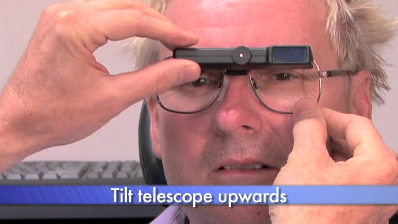 Contact lens with built in telescope to fight blindness cnn