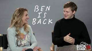 Julia Roberts & Lucas Hedges Talk Drug Addition in BEN IS BACK