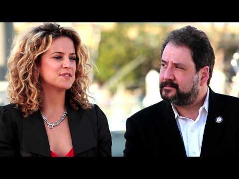 Alexis Carra and Senator Paul Strauss DC Statehood PSA