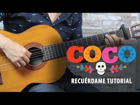 Como-tocar-RECURDAME-de-COCO-Tutorial-Guitarra-REMEMBER-ME-Guitar-Lesson
