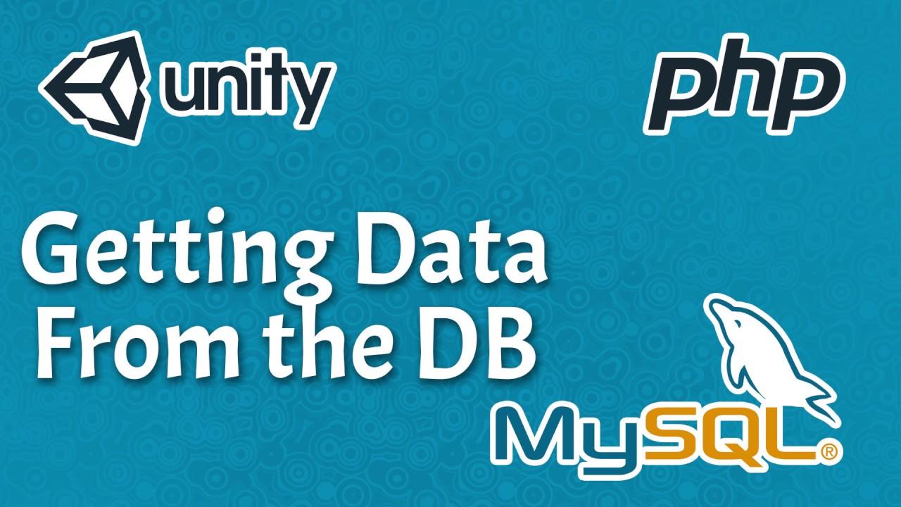 【Unity Easy Backend】Reading The Database - phpMyAdmin