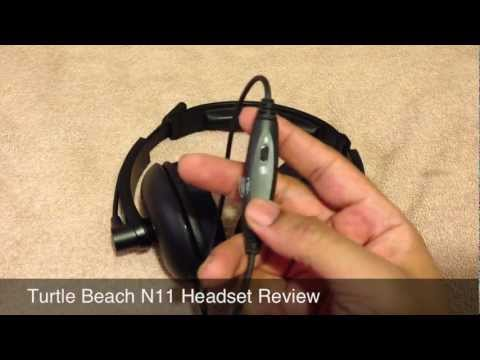 Wii U - Turtle Beach N11 Headset Review