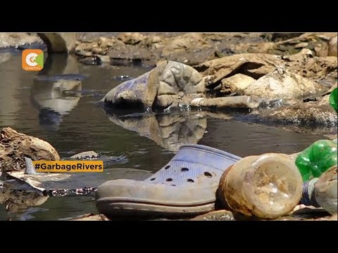 | GARBAGE RIVERS | Effluent in Nairobi and Athi Rivers