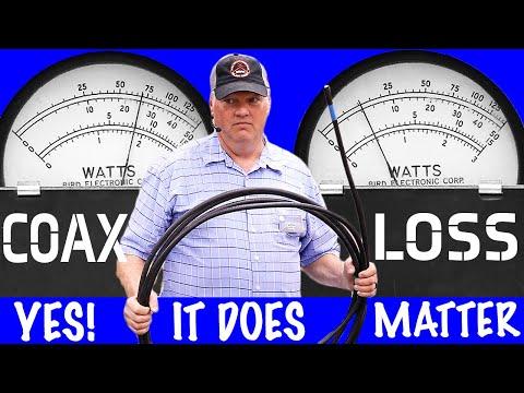 How to Measure Coax Loss (w/ Bird Wattmetter) - Coax Part 2