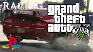 Grand Theft Auto V | Racing On PS4 (More Easy Race Tracks) Chill Stream