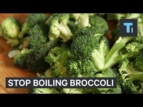 A popular way to cook broccoli removes important nutrients