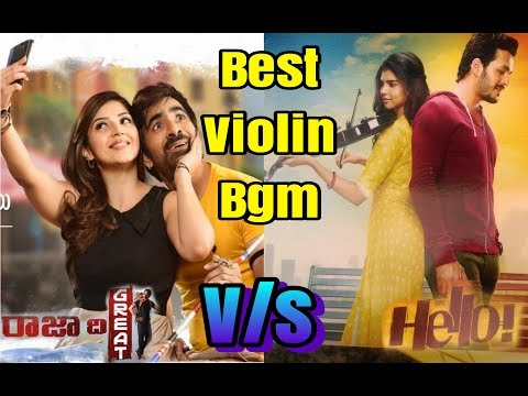 Hello vs Raja the Great Sad Violin Music || Heart touching bgm || BGM World