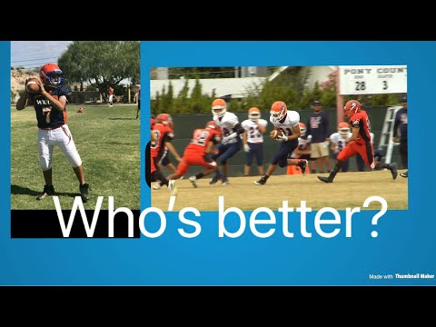 BEST FOOTBALL PLAYERS IN MIDDLE SCHOOL! | Wiggs Middle School Highlights!
