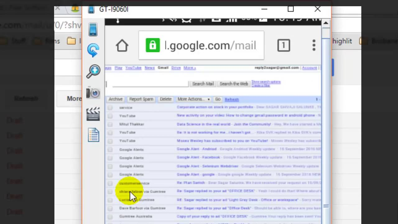 gmail android app signature formatting