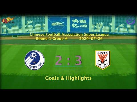[CSL] 20200726 Round 1 Group A Dalian Professional 2-3 Shandong Luneng