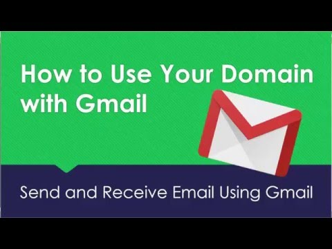 How To Use Your Domain With Gmail