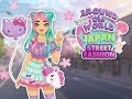 Barbie Around The World Japan Street Fashion(Dress up games for kids)