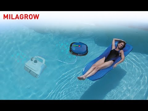 Milagrow RoboRover - World's 1st Floating Battery Pool Cleaning Robot