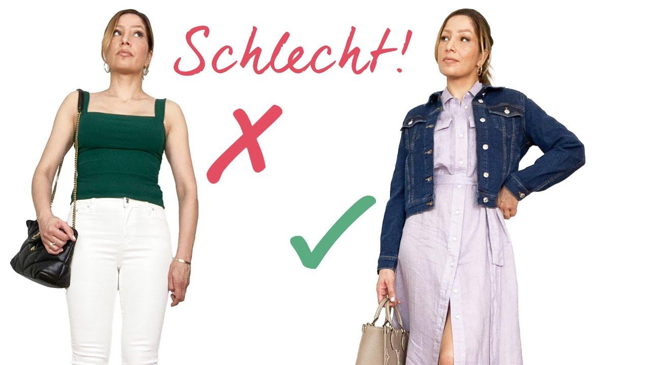 Das BESTE und das SCHLECHTESTE Outfit für jeden Figurtyp | A, X, H, O, Y