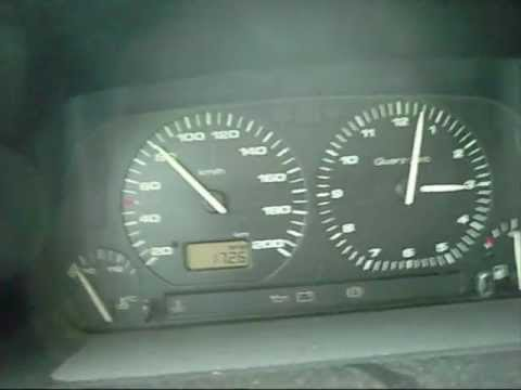 VW Golf 3 1.4 60 hp / Ps acceleration