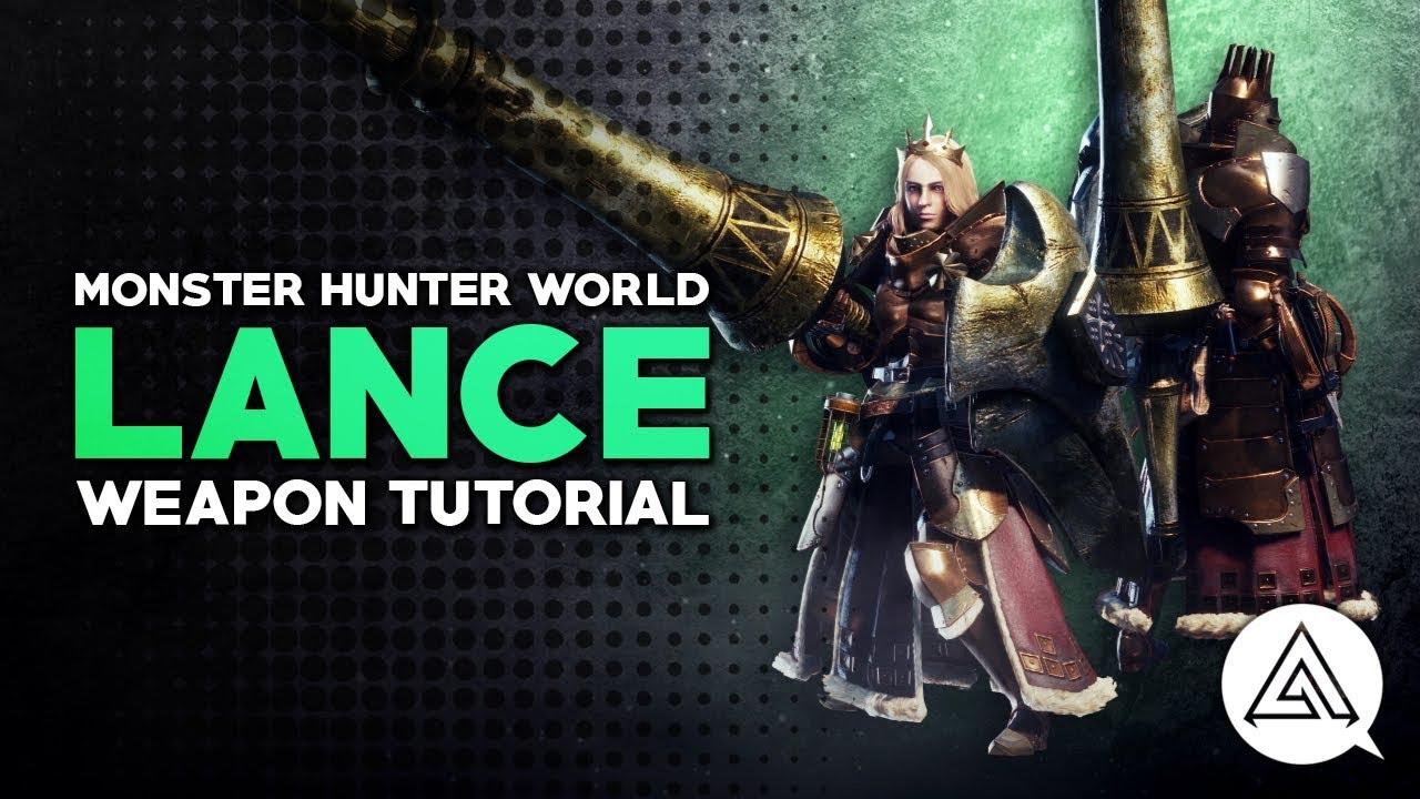 Monster Hunter World Lance Guide And Meta Builds Honey Hunters World Mhworld to mhgu gunlance what s the difference. monster hunter world lance guide and