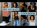 TRY ON HAUL/ LOOKBOOK ROCKING MY NATURAL HAIR
