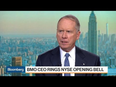 BMO CEO Says U.S. Business Is Growing in a Healthy Way