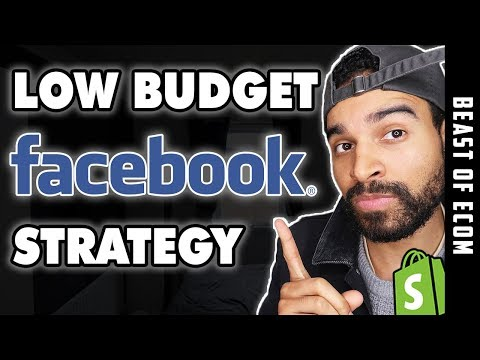 TUTORIAL: Low Budget Facebook Ads Strategy 2019 | Shopify Dropshipping thumbnail