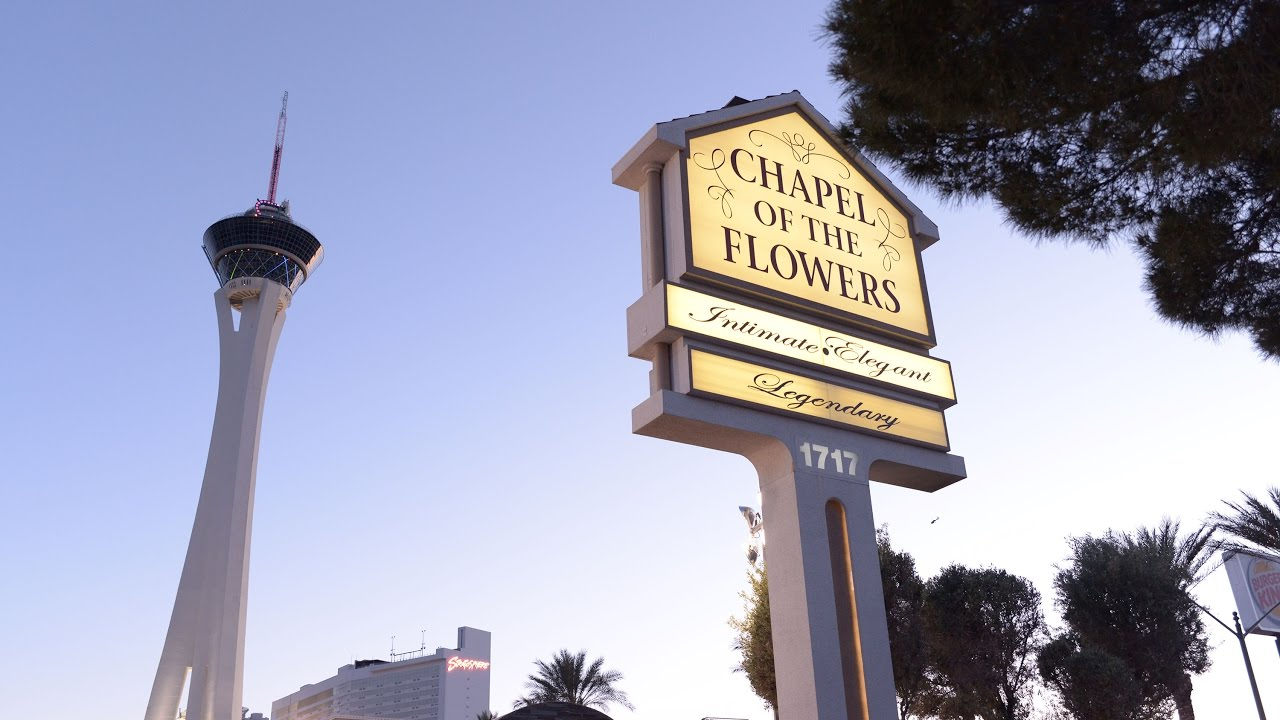 Grand Re Opening Of Chapel In Las Vegas Chapel Of The Flowers Youtube