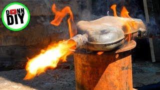DIY 2 Stroke Exhaust Carbon Build Up Burnout