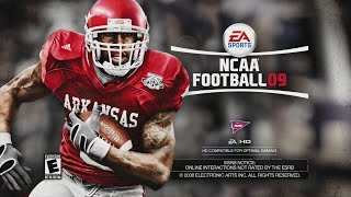 WHO REMEMBERS THIS? NCAA FOOTBALL 09 GAMEPLAY