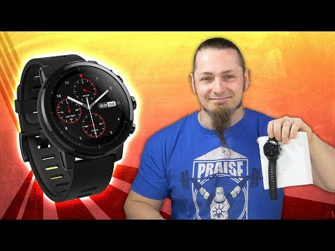 China Sport-Smartwatch mit GPS ⌚️ AMAZFIT STRATOS [Review, Technik, German, Deutsch]