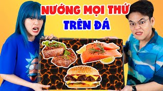 [PROJECT] 500K EVERYTHING GRILL ON HOT STONE | SEAFOOD, THIT NAI, HUGE INK | SUNNY TRUONG