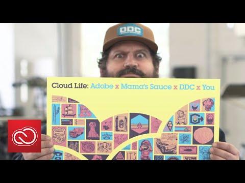 Designing With Aaron Draplin And Mama's Sauce Print | Adobe Creative Cloud