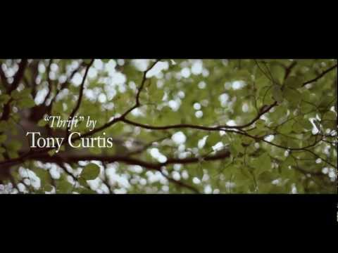 Tony Curtis poem Thrift film by Conor Whelan