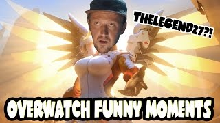 I FOUND THELEGEND27! (Overwatch Funny Moments/Stream Highlights #6)