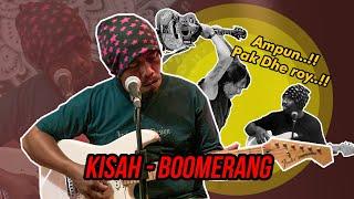 📌RIP HUBERT HENRY LIMAHELU!!😱😱 BOOMERANG - KISAH | Cover by Anton Gemblung